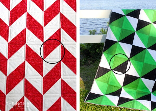 Home Decor Sewing School How To Sew Half Square Triangles The