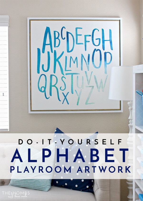 Diy alphabet art for the playroom the homes i have made diy alphabet art for the playroom solutioingenieria Gallery