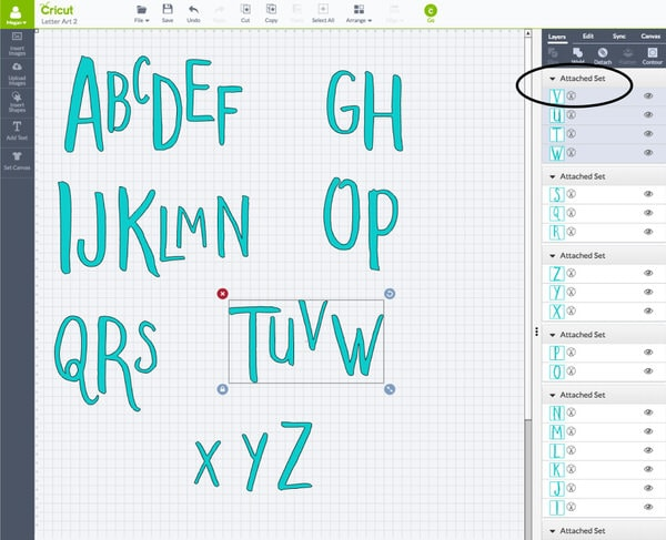 Create your own alphabet playroom art using a relief painting technique with the Cricut Explore!
