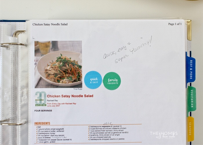 Streamline Meal Planning and Grocery Prep with an All-In-One Recipe Binder