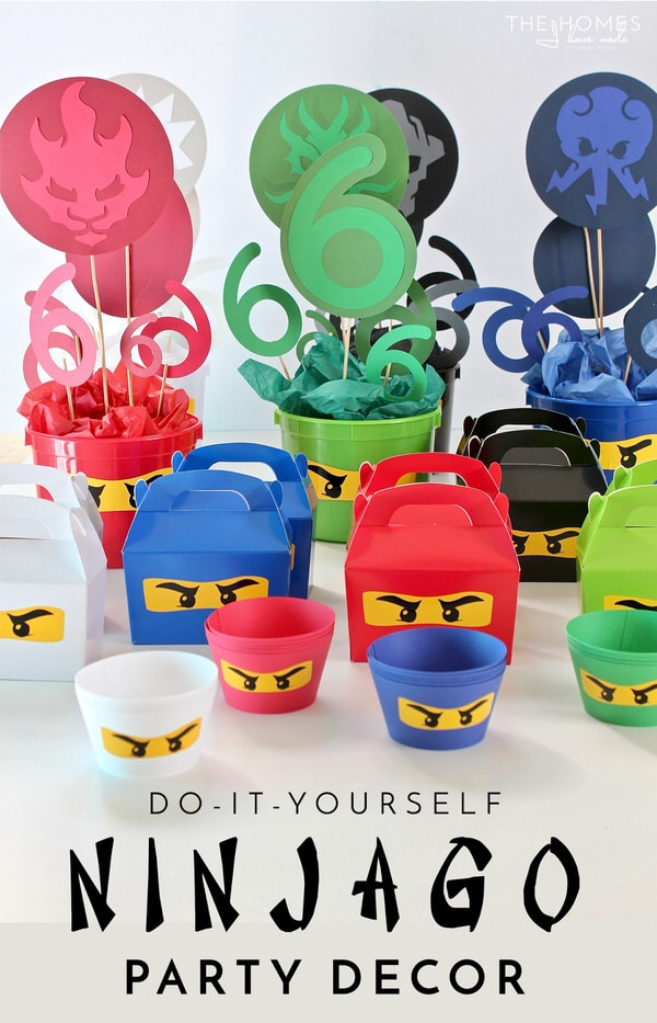 DIY Ninjago Party Decor (Henry's 6th Birthday Party!)