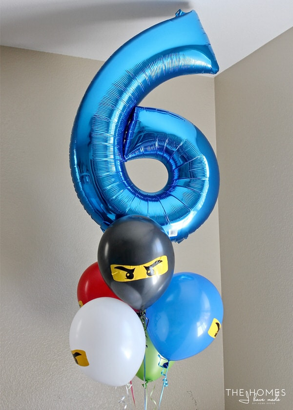 Diy Ninjago Party Decor Henry S 6th Birthday Party