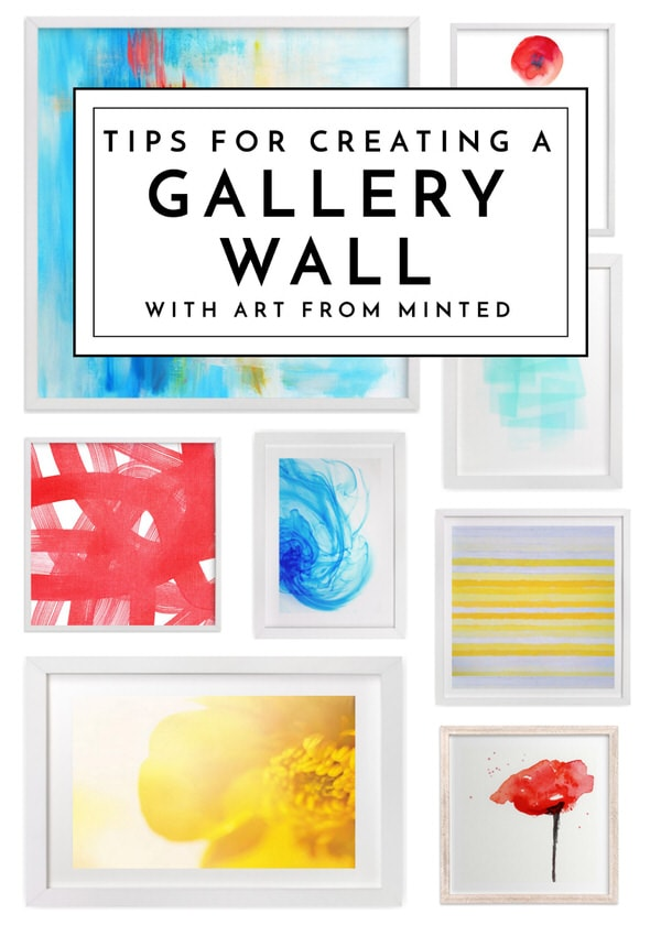 Looking to create a gallery wall in your home but don't know where to start? The endless options from Minted make it easier than ever to assemble a gallery wall you love!