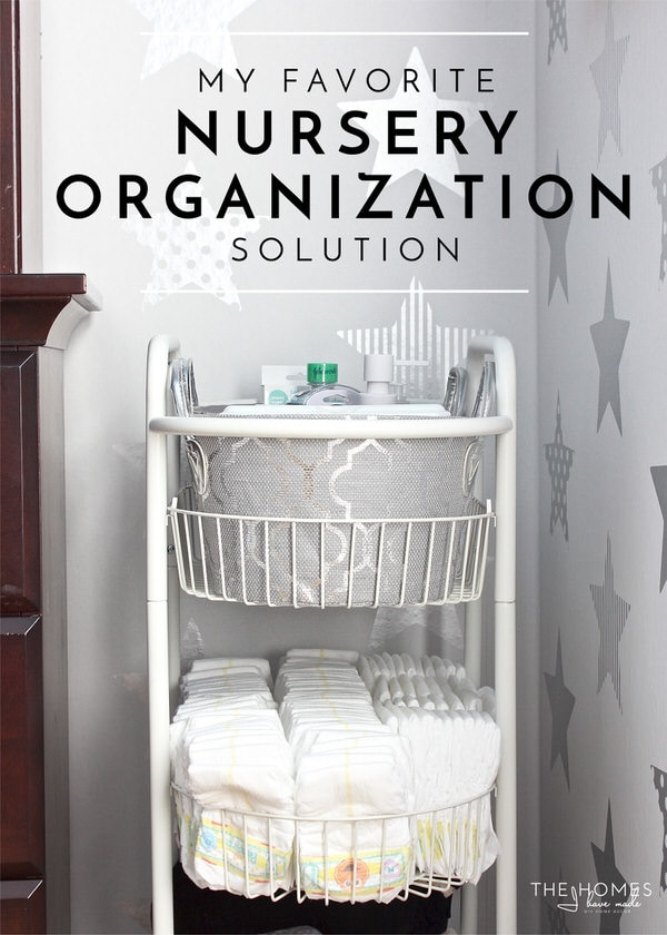 My Favorite Nursery Organization Solution (Right Now!)