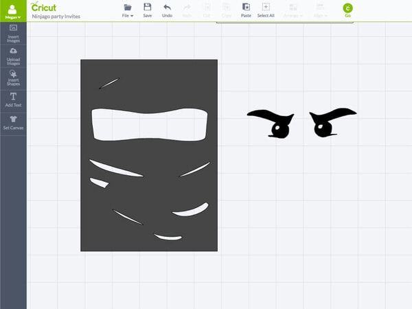 Make your own Ninjago Party Invitations using this simple tutorial for the Cricut Explore!