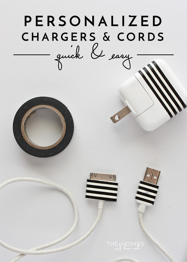 9cabf33e034d An Easy Way to Label Chargers and Cords! | The Homes I Have Made