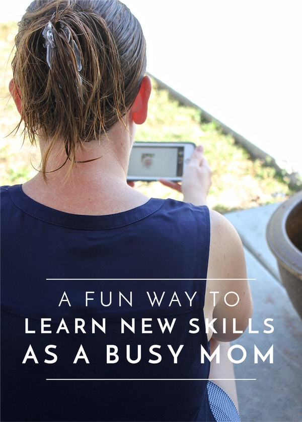 When you're a busy stay-at-home Mom, it can be hard to stay fresh and mentally engaged. Skillshare is making it easy to learn new skills wherever you are, no matter how much time you have!