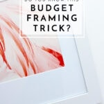 Do You Know This Budget Framing Trick?