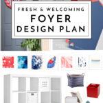 Fresh & Welcoming Foyer Design Plan