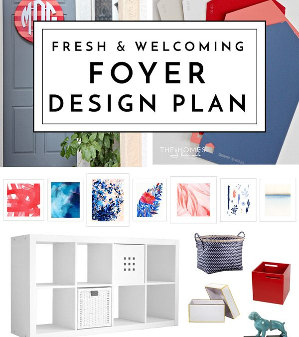 Struggling to create a foyer that is stylish as it is functional? Join me on my journey to creating a fresh and welcoming foyer.