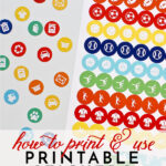 How to Print and Use Printable Stickers