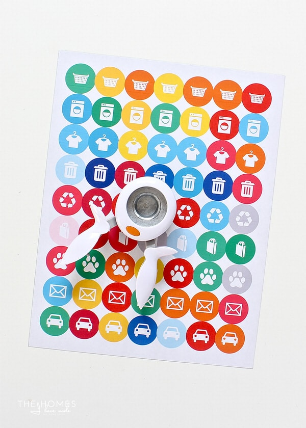 Learn how to print and use the chore activity and planner stickers from the homes