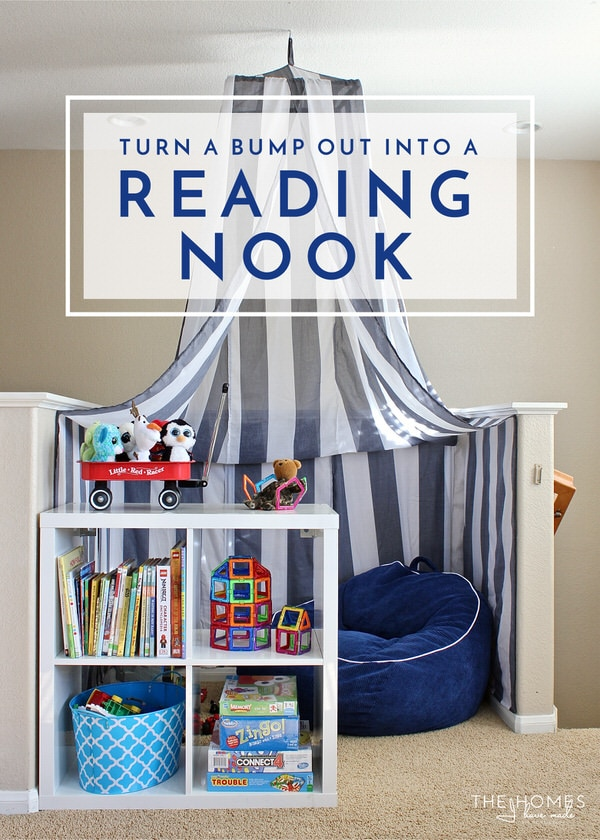 How We Turned an Awkward Bump Out Into a Reading Nook