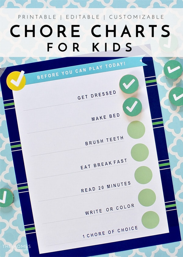 how to make a chores chart
