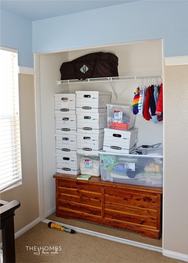 Superior Not Sure How To Fit Everything Into Your Tiny Nursery Closet? Check Out  This Nursery