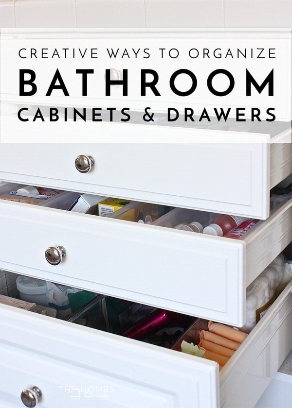 Are You Bathroom Cabinets And Drawers A Disaster? Check Out The Creative  Ways This Blogger