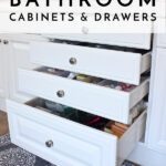Creative Ways to Organize Bathroom Cabinets and Drawers