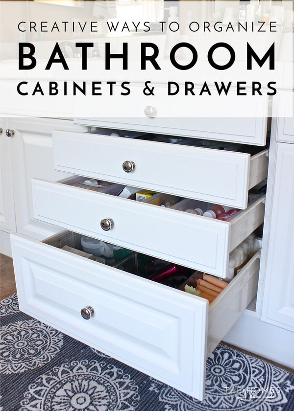 Outstanding Creative Ways To Organize Bathroom Cabinets And Drawers Download Free Architecture Designs Itiscsunscenecom