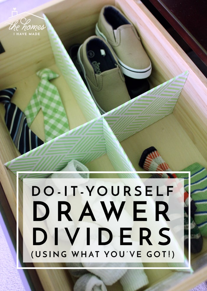 Organize any drawer with DIY Drawer Dividers (Using What You've Got!)