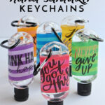 DIY Hand Sanitizer Keychains