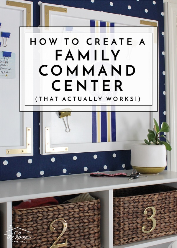 Manage your family's shoes, bags, papers, mail and more by learning how to create a Family Command Center that actually works!
