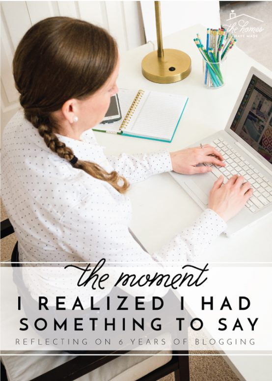 The Moment I Realized I Had Something To Say | Reflections on 6 Years of Blogging