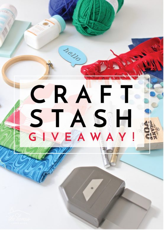 Celebrating 6 Years of Blogging with a Craft Stash Giveaway!