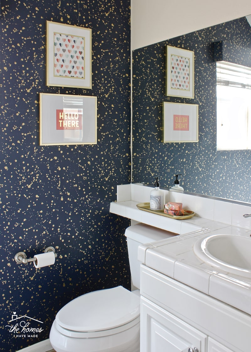 Ideas for Decorating a Rental Bathroom Using All Temporary ...