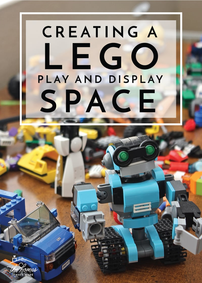 Creating A Lego Play And Display Space | Combine A Play Surface, Storage  And Display