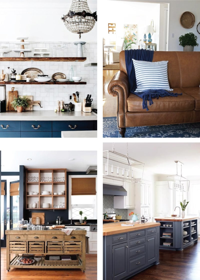 Do you have an ugly rental kitchen and no idea how to make it pretty? Check out these smart, easy and renter-friendly plans for adding major style to a bland rental kitchen!