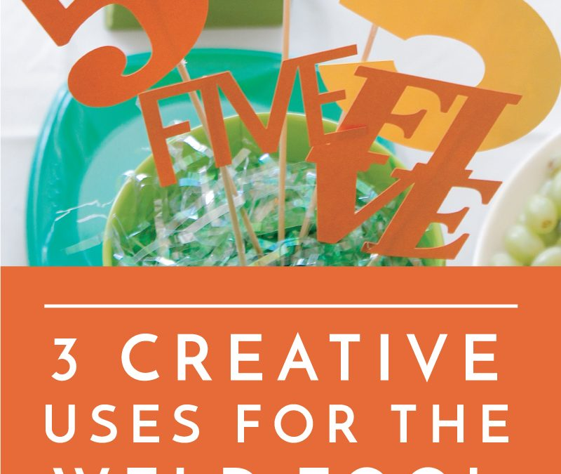 Learn how to use the Weld tool in Cricut Design Space, including 3 creative techniques you may not have tried!
