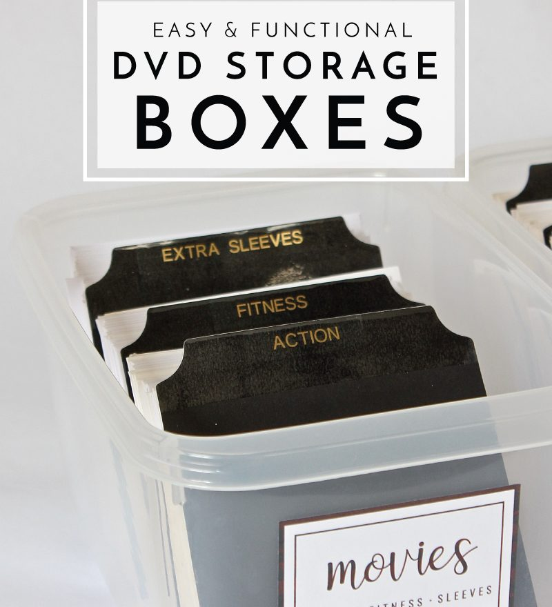 Easy Functional Dvd Storage Bo