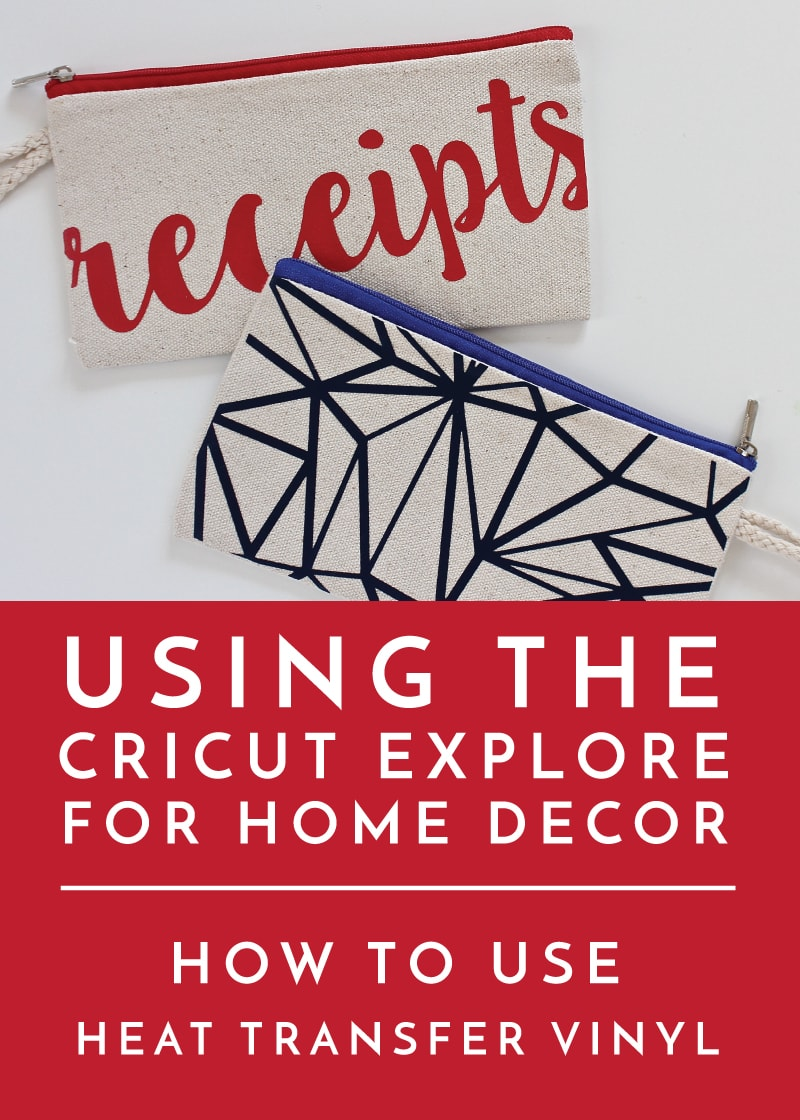 How to Use Heat Transfer Vinyl and Your Cricut Explore