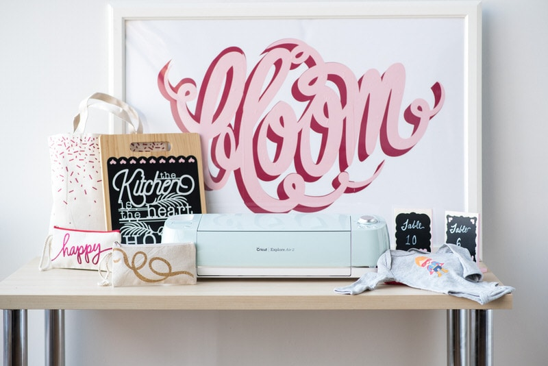 Learn everything you need to know about working with vinyl and your Cricut machine now in this new class on Craftsy!