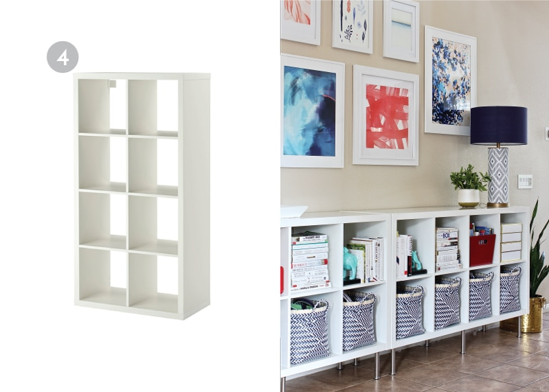 There are so many great, inexpensive, basic IKEA Products that you can easily paint, stencil, label, customize or hack for your home! Here are some of the best of the best!