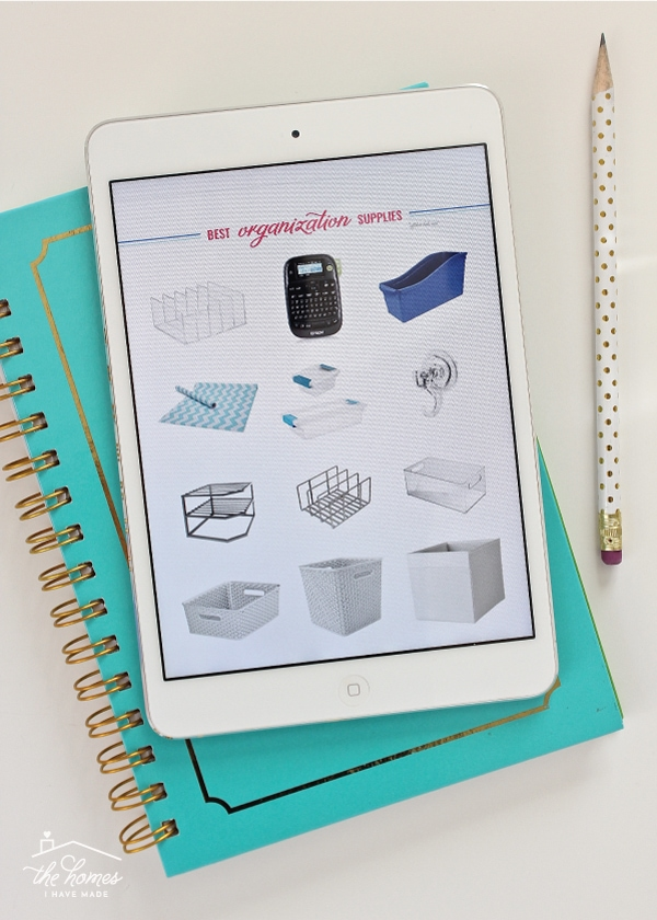 Need to get more organized but don't know where to start? This FREE e-book is full of great advice, easy ideas, inspiring quotes and 1-hour project ideas to get you started!