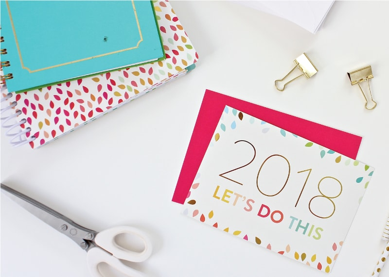 Goals don't always have to be about better, bigger, and more. Read how this blogger is choosing for quiet, slow and calm for 2018!