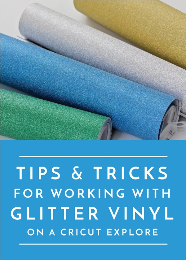 Tips And Tricks For Working With Glitter Vinyl The Homes I