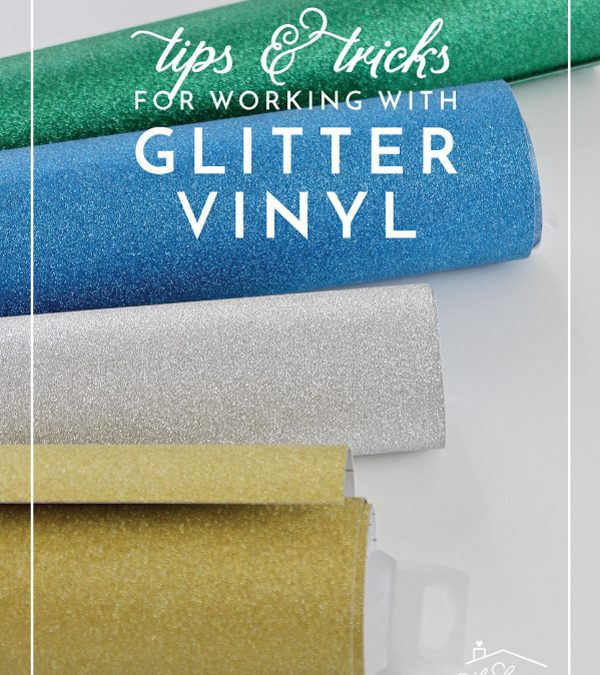 Are you ready to give your vinyl projects some sparkle? Learn everything you need to know about working with glitter vinyl on your Cricut Explore!