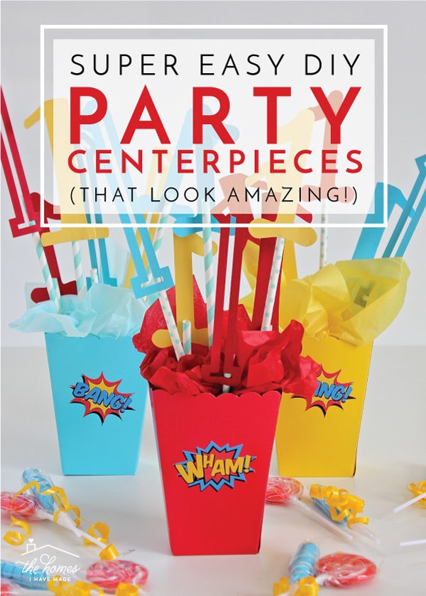 Super Easy Diy Party Centerpieces That Look Amazing