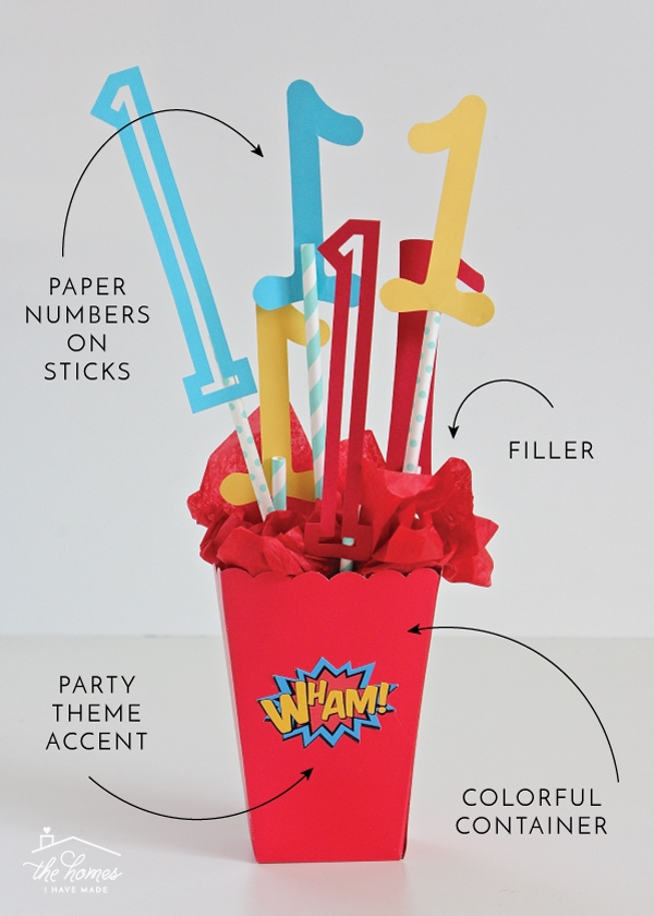 No matter the theme, no matter the occasion, use this formula to create super simple DIY Party Centerpieces that look amazing!