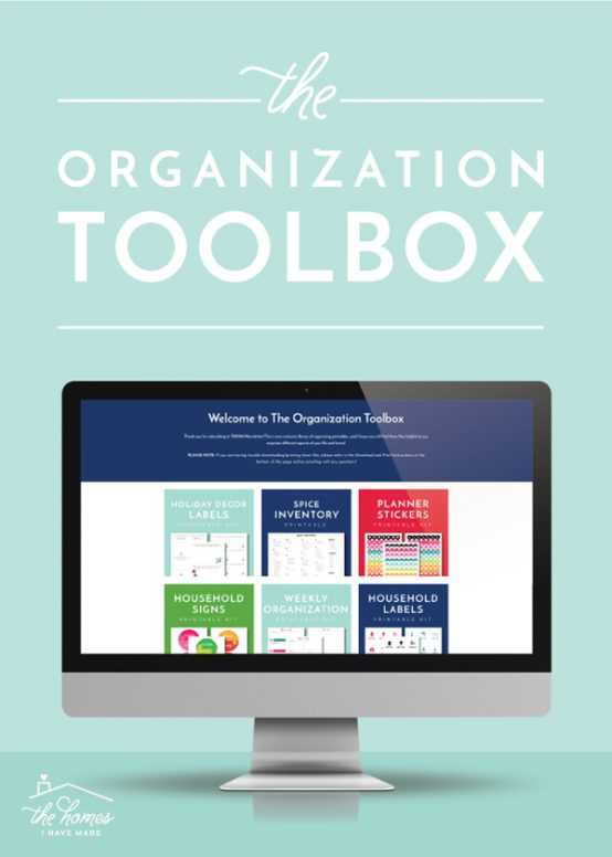 Changes to The Organization Toolbox