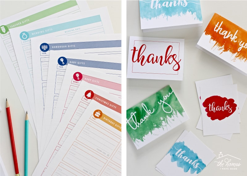 The Organization Toolbox | Say Thanks Printable Kit