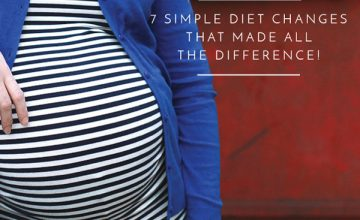 Ready to lose the last of the baby weight? Try these 7 easy-to-implement eating strategies to create a calorie deficit without the drama!
