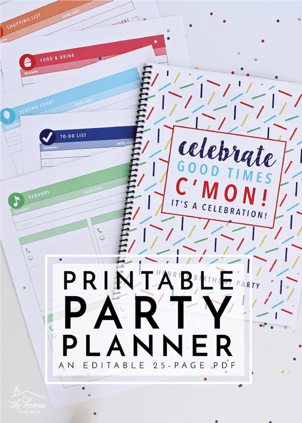 photo regarding Party Planner Printable titled Clean towards The Small business Toolbox: Printable Bash Planner