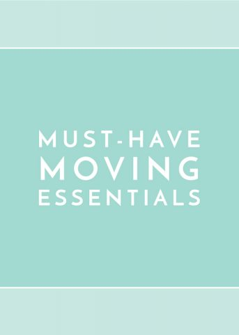 Must-Have Moving Essentials