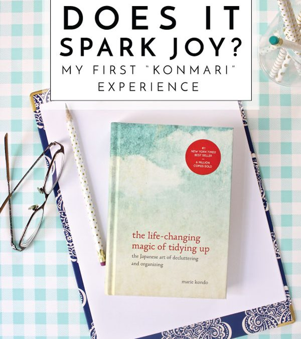 Does It Spark Joy? | My First KonMari Experience