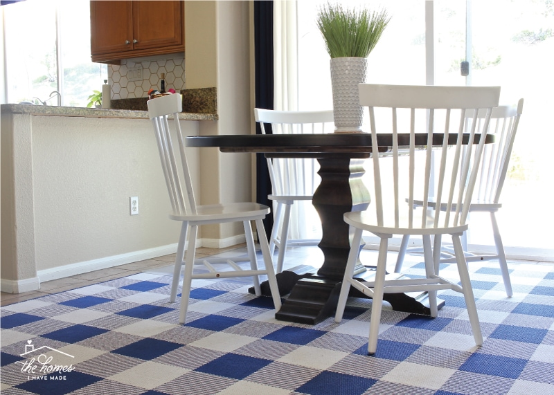 Awe Inspiring A Rug Under The Kitchen Table Practical Ideas For Making Complete Home Design Collection Epsylindsey Bellcom