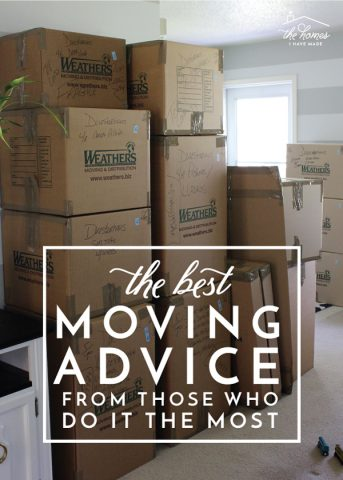Military spouses share their best tips, tricks, and advice for executing a smooth move!