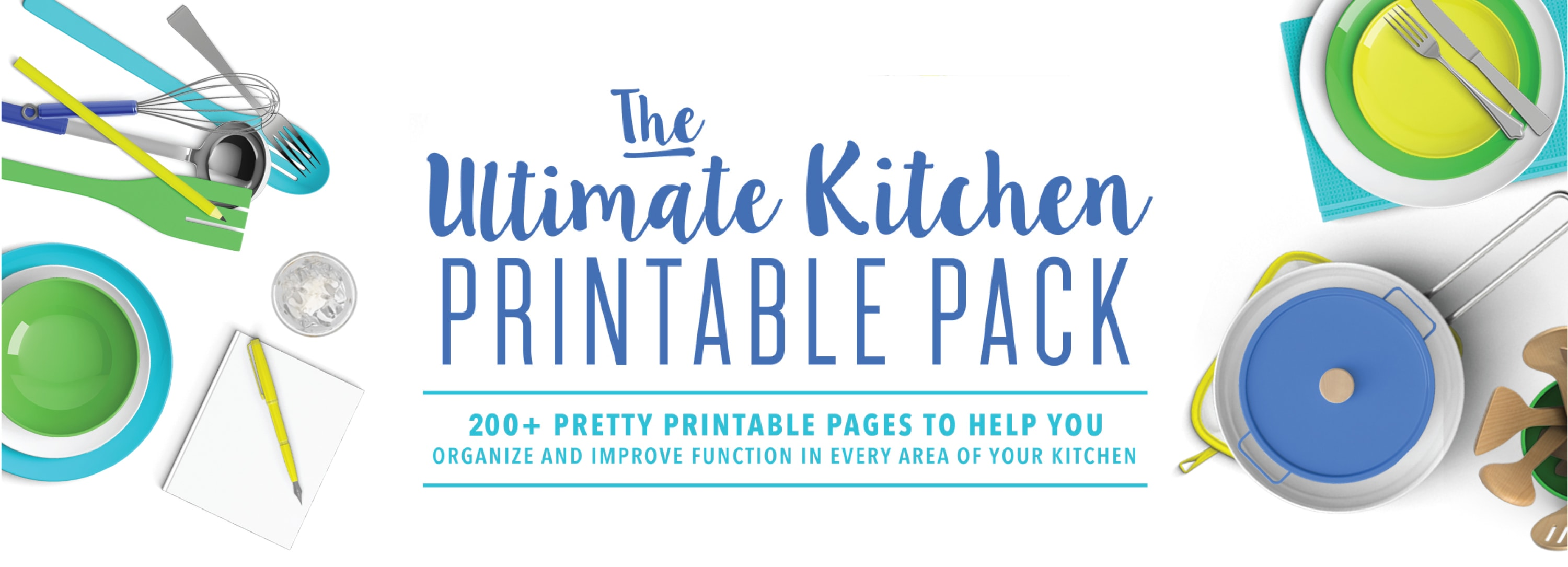 picture regarding Kitchen Printable called The Top Kitchen area Printable Pack The Households I Consist of Created